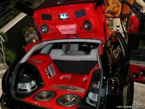 Установка аудиосистемы на авто абсолютно любой марки.